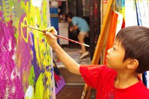 子どもたちの豊かな心を育てる芸術活動