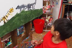 子どもが絵を描くことの必要性とその魅力
